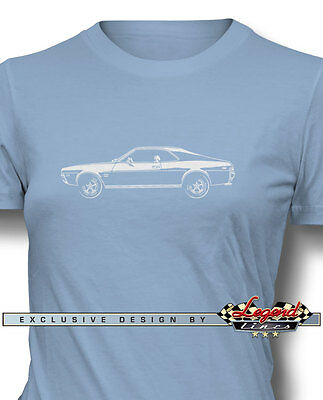 AMC Javelin 1968 Coupe T-Shirt for Women - Multiple Colors Sizes - American Car