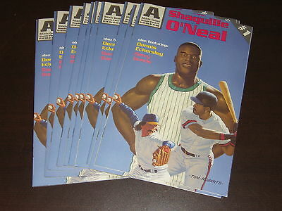 Dealer Lot Of 10 Shaquille O'neal Athletic Comic # 1 W/ Eckersley Bonds