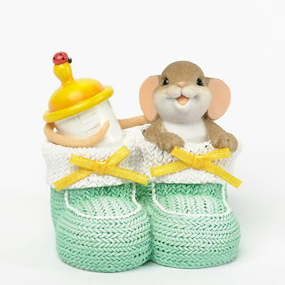 """Charming Tails """"You've Got the Cutest Baby Face"""" NIB #4035613"""