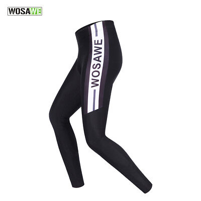 Mens Cycling Tights Spring Autumn Gel Padded Legging Pants Cycle Long Trousers