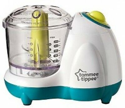 2 Speed Baby Small Food Blender Tommee Tippee Handy Prosessor With Pulse Action
