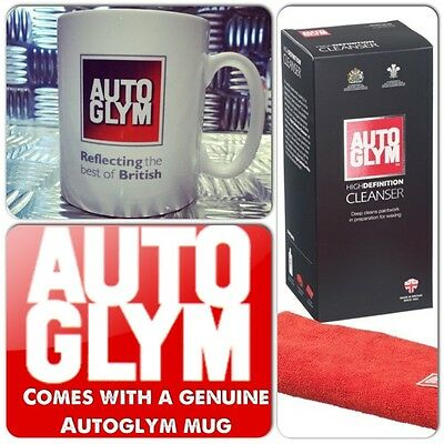 Autoglym Ultimate High Definition Deep Car Paintwork Cleanser Kit + Genuine Cup
