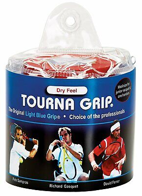 Tourna Grip Original 30 Pack Tennis Overgrip Blue - Free P&P