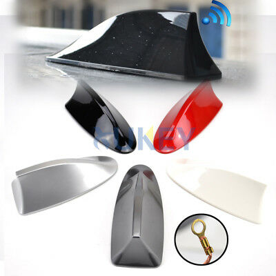 Working Car Roof Shark Fin Antenna Radio Signal Aerial For Opel Astra G/J/H BMW