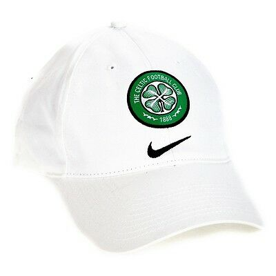 Glasgow Celtic Cap by Nike - Adult Celtic Cap with Crest & Nike Logo -Ideal Gift
