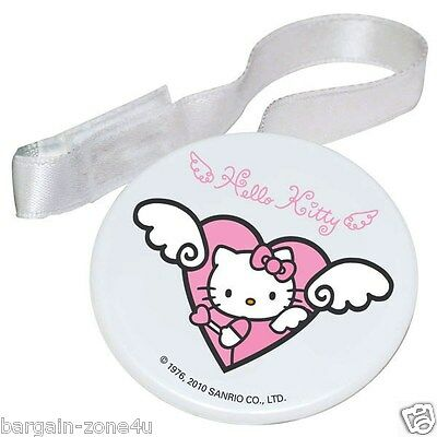 Hello Kitty Soother Holder Newborn Baby Girls Pink Bottle Accessories BPA Free