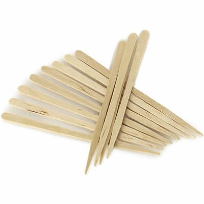 200 x DISPOSABLE EYEBROW WAXING WAX SPATULAS mini small thin lip chin