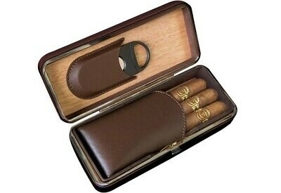 Prestige Import Group Folding Case with Cutter (Brown)