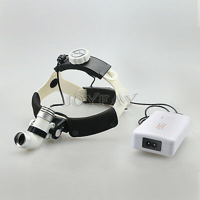 LED Medical Headlight Surgical Head Light Lamp 3 W AC/DC KD-202A-3 US Shipping