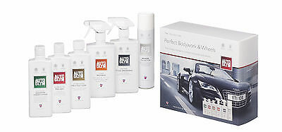 Autoglym Car Care Interior & Exteror Perfect Bodywork and Wheels Gift Collection