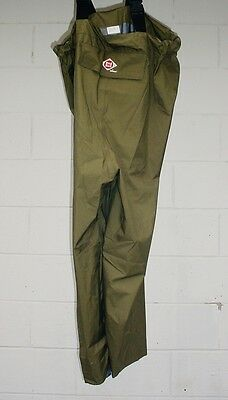 Red Ball-Lacross fishing boating rain hunting Pants W/suspender  Sz 9 Chest High