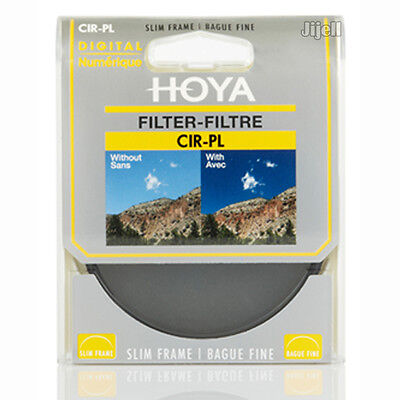 55mm HOYA CPL Circular Polarizer Slim Filter for Canon Nikon Sony Camera Lens