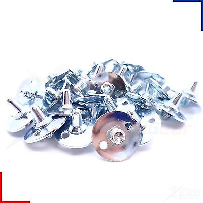 Golf Shoe Spikes - Replacement All Metal Screw Studs 6mm Thread