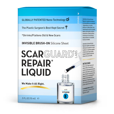 0.5oz Scarguard MD Scar Treatment Diminishes Scars Easy-To-Use Solution