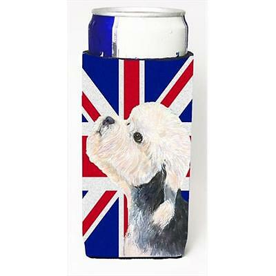Dandie Dinmont Terrier With English Union Jack British Flag Michelob Ultra bo... • AUD 47.47