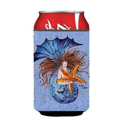 Carolines Treasures 8337CC Mermaid Can Or Bottle Hugger 12 oz.