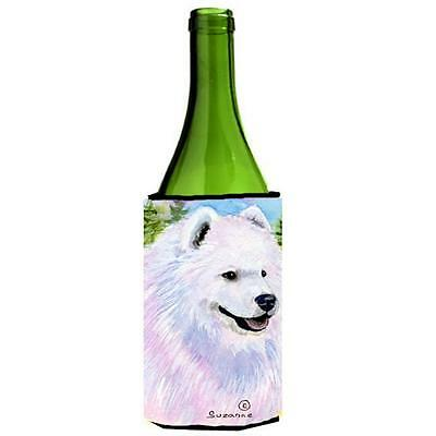 Carolines Treasures SS8755LITERK Samoyed Wine bottle sleeve Hugger 24 Oz.