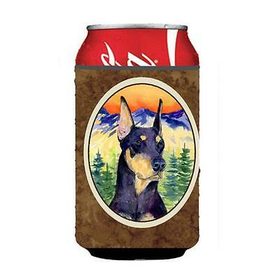 Carolines Treasures SS8658CC Doberman Can Or bottle sleeve Hugger