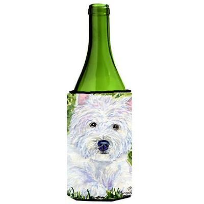 Carolines Treasures SS8835LITERK Westie Wine bottle sleeve Hugger 24 Oz.