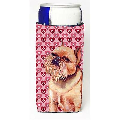 Brussels Griffon Hearts Love And Valentines Day Portrait Michelob Ultra s For...
