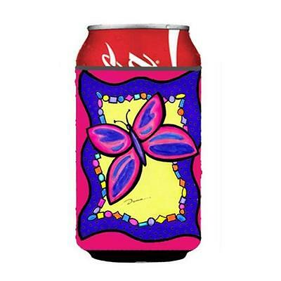 Carolines Treasures LD6049CC Butterfly Can or bottle sleeve Hugger