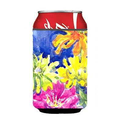 Carolines Treasures 6122CC Flower Can Or Bottle Hugger