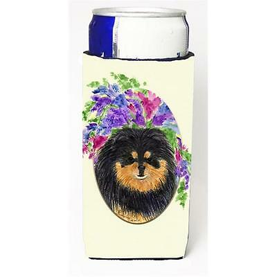 Carolines Treasures SS8075MUK Pomeranian Michelob Ultra s For Slim Cans 12 oz.