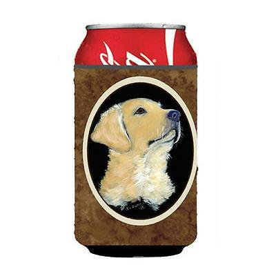 Carolines Treasures SS8960CC Golden Retriever Can Or Bottle Hugger 12 oz.