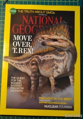New un read National Geographic Magazine October 2014 Free UK P&P