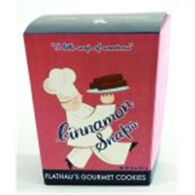 Flathaus Fine Foods 5512 6 oz. Can Snaps Cinnamon Cookies Pack of 12
