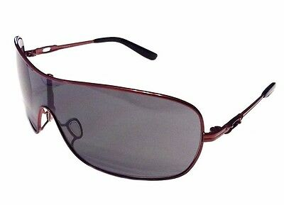 NEW Oakley Distress Sunglasses - Cayenne Red Frame - Grey Lens - OO4073-04