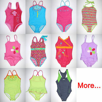Girl's 1 1-pc One Piece Swimsuit Swimming Tank Bathing Suit Kids Child age 5 6