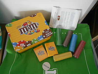 valise m&m's poker collector