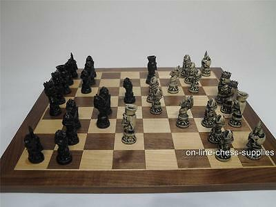 Undead Gothic Chess Set  (Pieces only - no board)