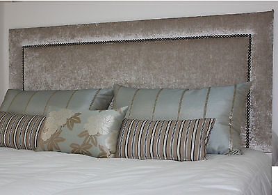 """Quality Designer Headboard In Chenille Fabric Stylish All Sizes And Colours 32"""""""