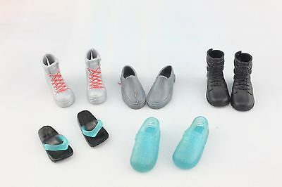 hot wholesale High quality Original 5 pairs shoes for ken Doll Party A0