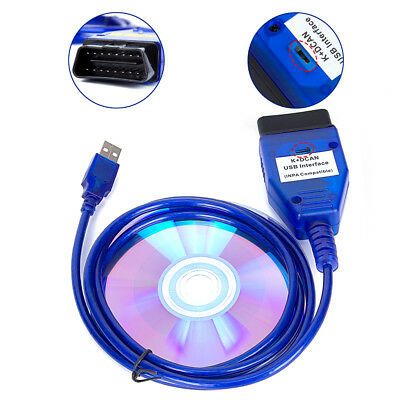 USB-OBD K + Dcan INPA Diagnostic Cable for BMW Switched DIS SSS NCS Coding