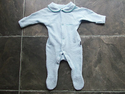BNWT Baby Boy's Bonds Blue Wondersuit Coverall Size 000