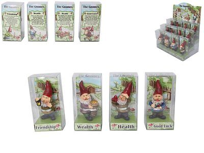 Gnome Fantasy Figurine Home Decoration Various Style Box - Brand New 1 x Gnome