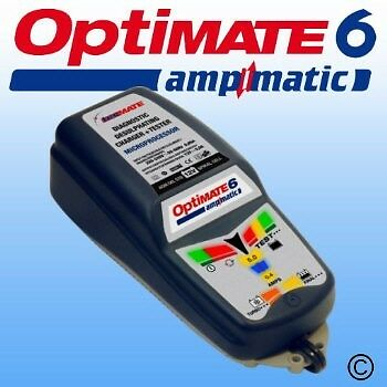 Optimate 6 Dual Motorcycle 12V Battery Charger Optimiser Quality Latest Design