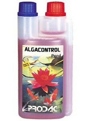 ALGA CONTROL POND 350 ml ALGUICIDA  ESTANQUE COMBATE ALGAS ANTI-ALGAS PRODAC