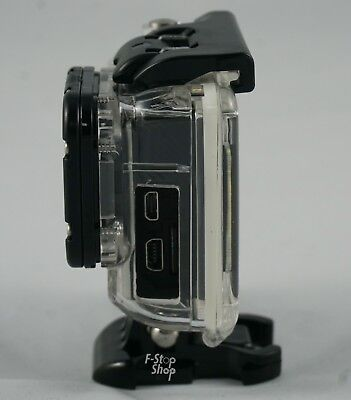 Skeleton Housing Case Open Side Open Back For GoPro Hero4 Silver Hero3+