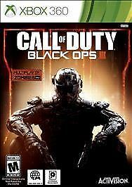 Call of Duty: Black Ops III 3 for Xbox 360 Brand New! Factory Sealed!