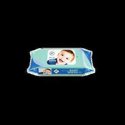 New Refill Package 80ct Wipes Plus - Ultra Soft Baby Wipes Unscented