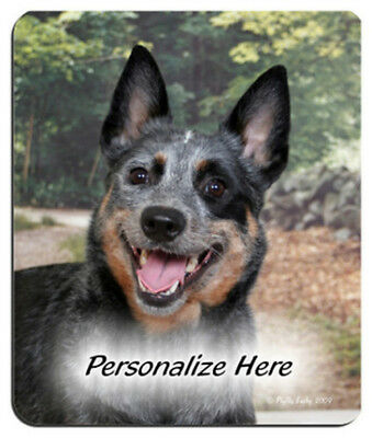 Australian  Cattle  Dog     Personalized    Mouse Pad