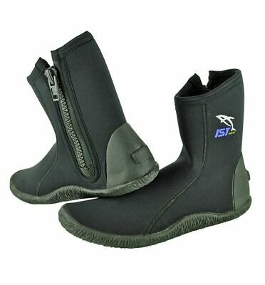 NEW Size US12 IST S19 5mm Scuba Dive Boots - DIVING KAYAKING REEF FISHING