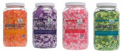 La Palm Spa Pedicure BATH FLOWERS Petals Soap 1 gallon VARIATIONS U Pick