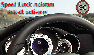 Mercedes Traffic Sign Assyst (TSA) unlock activator via simple OBD2 plug