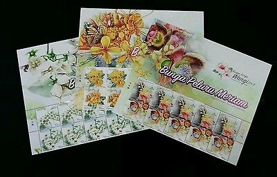 Malaysia Scented Flowers II 2016 Flora Plant (stamp with title) MNH