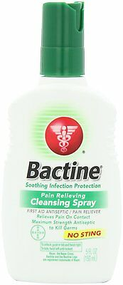 3pc 5oz Bactine First Aid Spray Original No Sting Pain Relieving Antiseptic